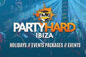 Party Hard Ibiza Events Package 2018