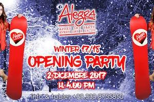Alegra Apres Ski Opening Party