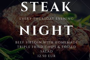 Thursday Steak Night Special