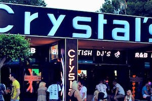 CRYSTALS BAR