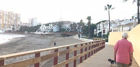 Senda Litoral Mijas (boardwalk)