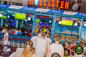 Hollister Sunny Beach FOOD MUSIC & BAR