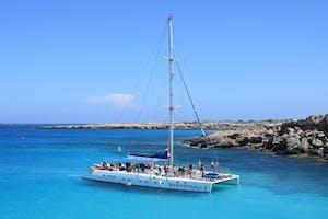Catamaran Caldera Gold (Morning/Afternoon Trip)