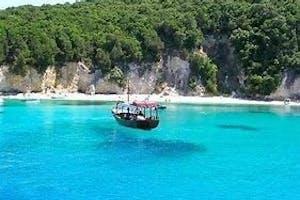 Blue lagoon and Parga