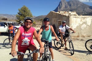 Downhill Bike Ride from Calpe