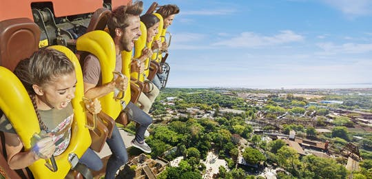 PortAventura Combined Ticket: 3 Days, 2 Parks